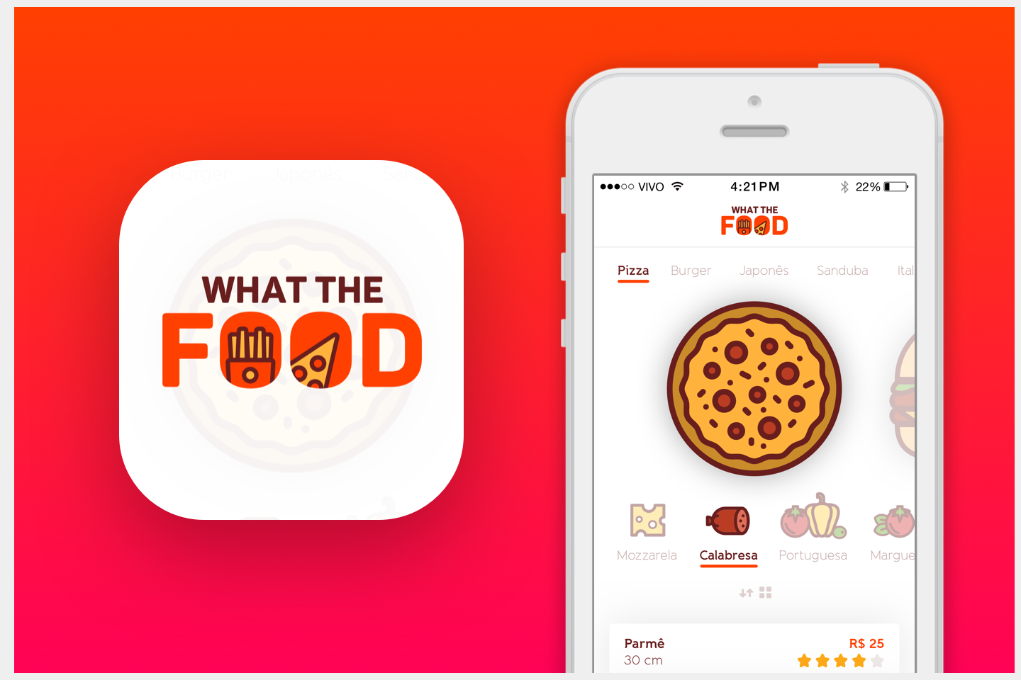 What the Food – App