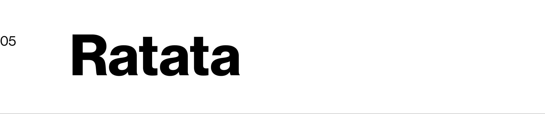 Ratatá – App